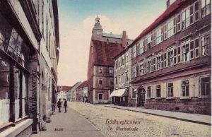 Blick in die Obere Marktstraße