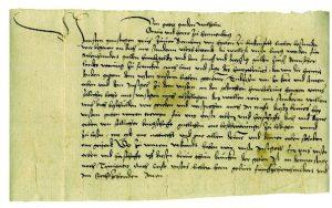 Brief von Wilhelm