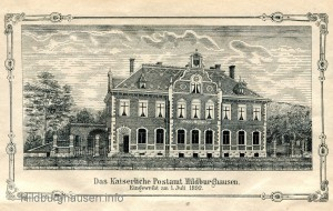 Postgebäude 1892