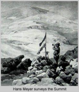 Hans Meyer Kilimandscharo