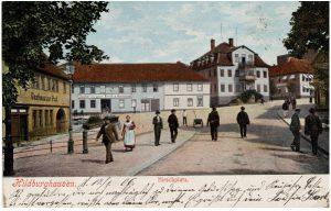 Hirschplatz 1904