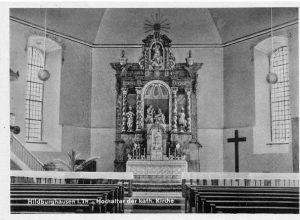 Hochaltar der Stiftskirche