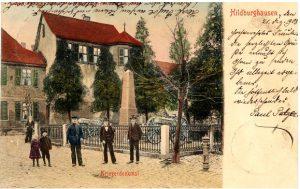 Kriegerdenkmal am Nonneplatz
