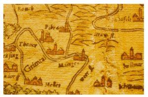 Landkarte von Sebastian Münster