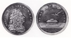 Medaille (Ag) 1715