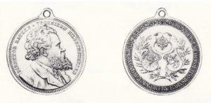 Medaille Harmsen Wilhelm Rathke