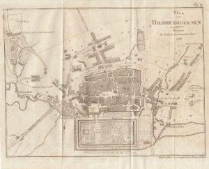 Plan von Hildburghausen