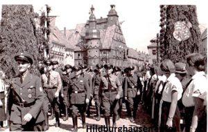 Aufmarsch zum Kreisparteitag der NSDAP am 30. Juni 1935
