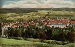 Blick vom Stadtberg um 1900