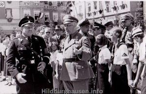 Die beiden führenden Nazis des Kreises Hildburghausen, Büchner und Hille