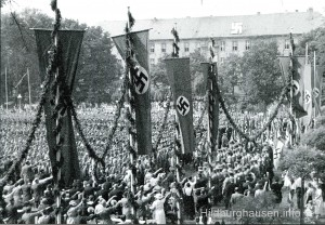 NSDAP im Schlosspark