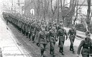 RAD im Marsch