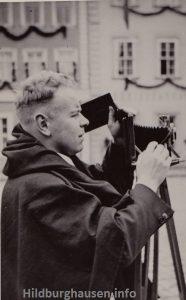 Rudolf Meffert auf Motivsuche