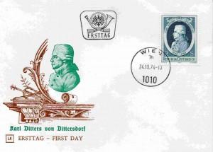 1470 Ditters von Dittersdorf FDC427