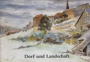 Dorf und Landschaft