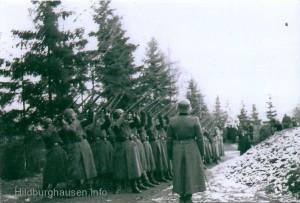 Ehrensalut der Wehrmacht