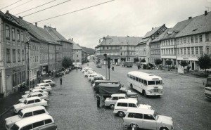 Marktplatz um 1970