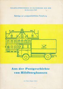 Postgeschichte von Hildburghausen