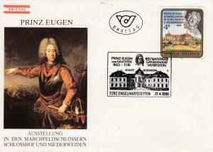 Prinz Eugen Schloss Schlosshof FDC Österreich