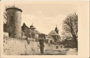 Stadtmauer 1950