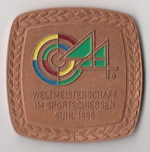 Schieß-WM 1986 Suhl I