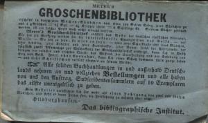 Groschenbibliothek Werbetext