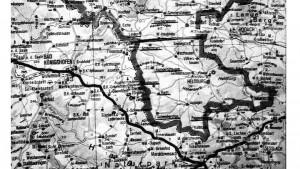 Karte Kreis Hildburghausen 1945