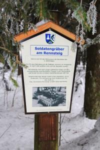 Siegmundsburg Soldatengrab