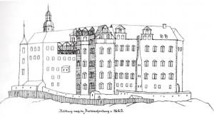 Die Veste Heldburg.
