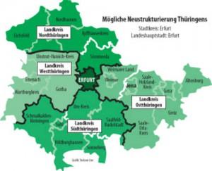 Gebietsreform Thüringen