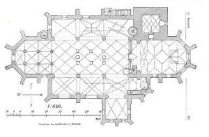 Grundriss Römhilder Kirche