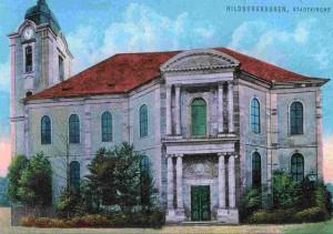 HBN Christuskirche Schwammsanierung