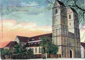 Kloster Veßra um 1912