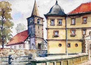 Marisfeld Schloss Kirche