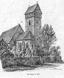Milz Kirche nach Lehfeldt