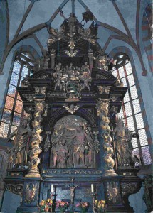 Römhild Stiftskirche Hochaltar Lux