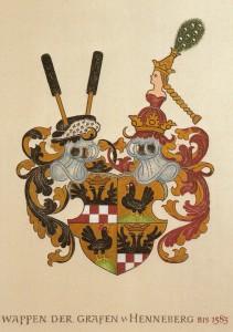 Wappen Henneberger bis 1583