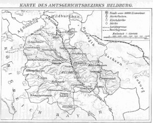 Karte Heldburg