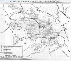 Karte Römhild