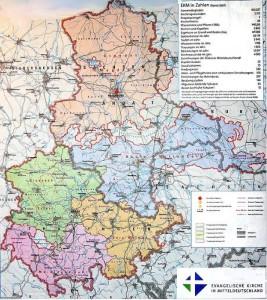 Kirchen in Mitteldeutschland