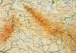 Südthüringer Karte