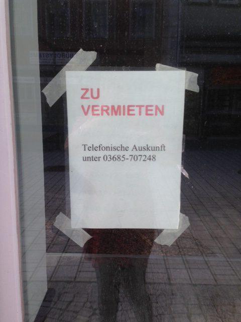 Geschäftsinhaber abhanden gekommen - Geschäftsräume dringend zu vermieten!